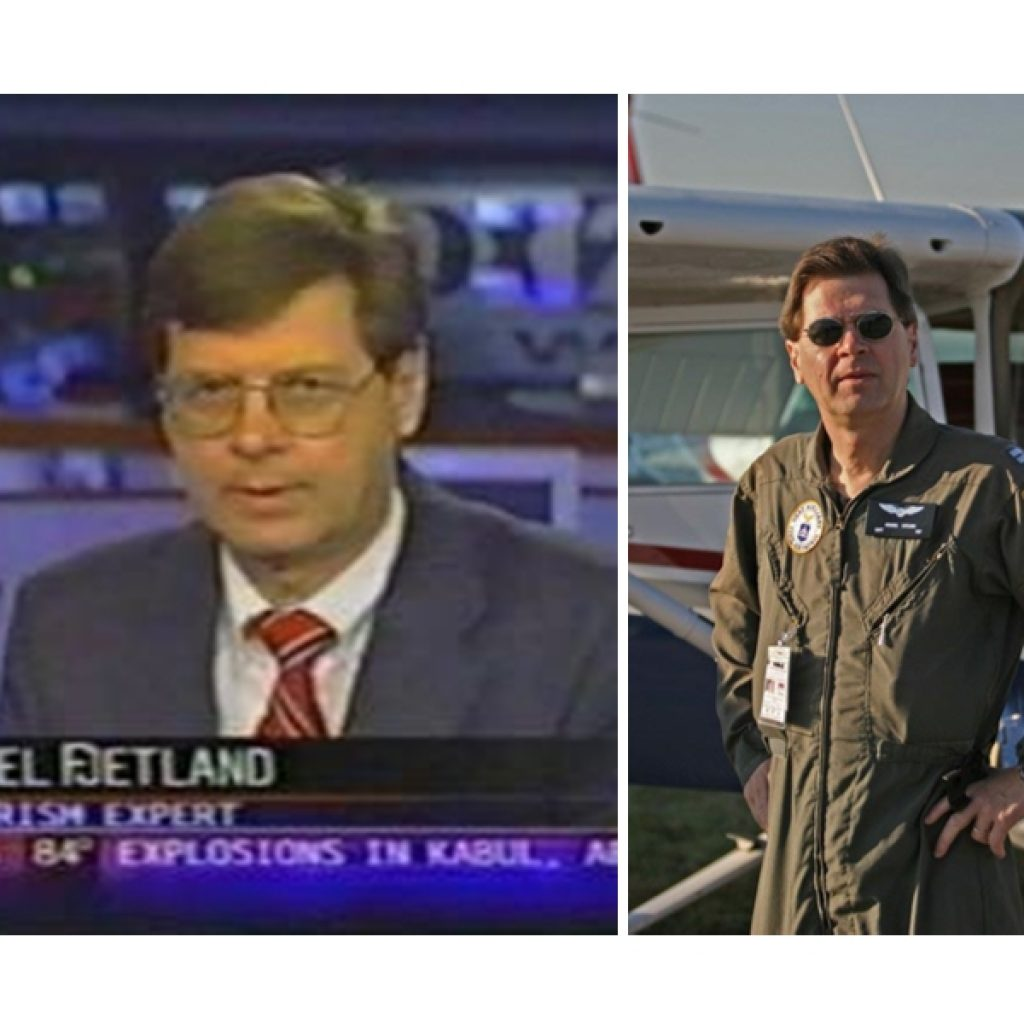 terrorism analyst and pilot